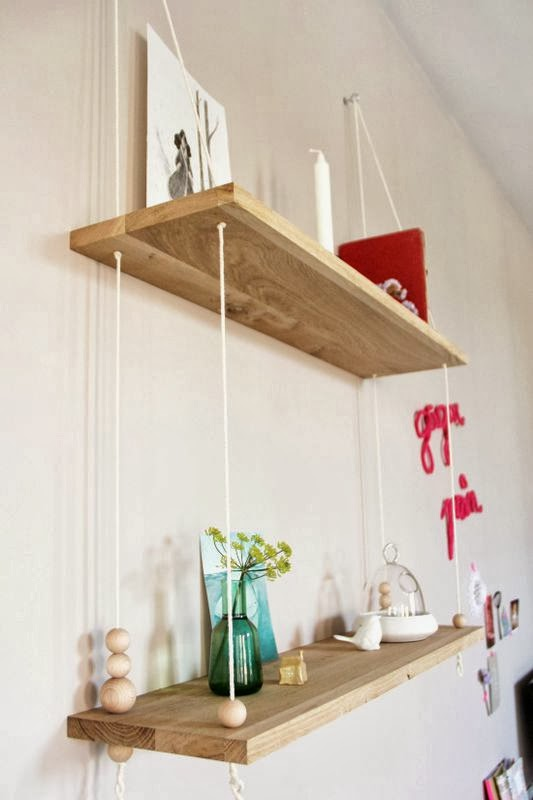 From ac m diy etag re suspendue et autres - Etagere suspendue design ...