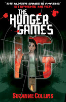 UK book cover of The Hunger Games by Suzanne Collins