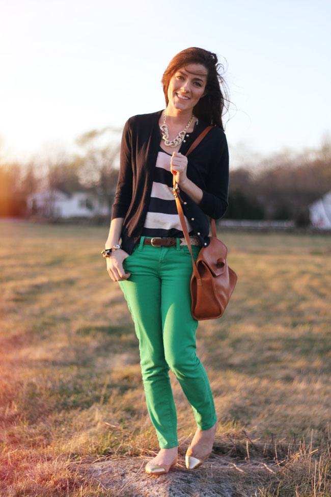 Classy Girls Wear Pearls Spring Meadow Rush