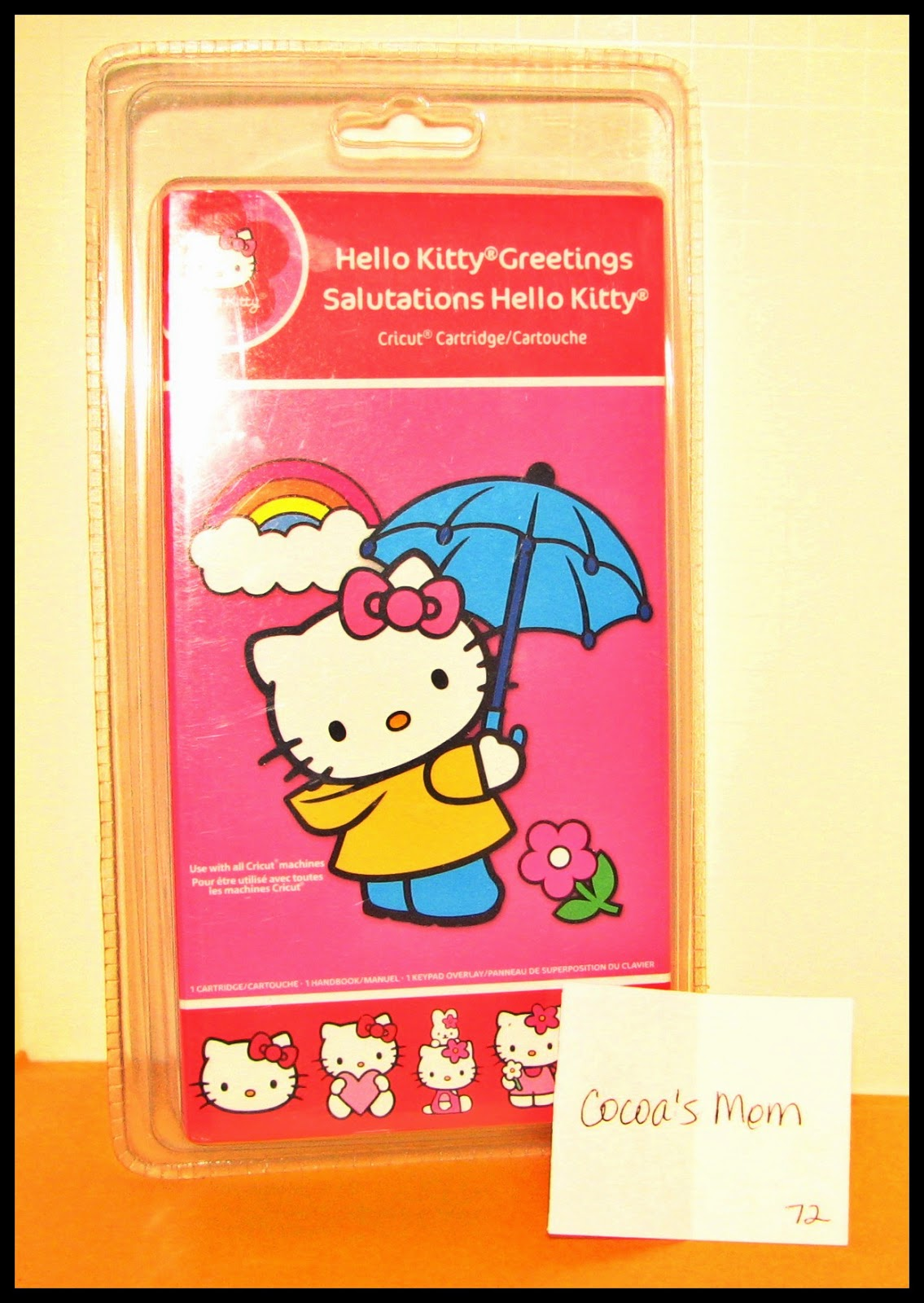 Around the block with scrapalette hello kitty greetings winner hello kitty greetings winner m4hsunfo
