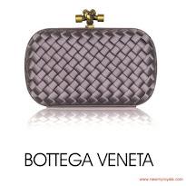 Princess Mary Style BOTTEGA VENETA Clutch and VELENTINO Pump