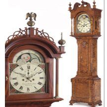 American Craftsmen Show Artist Leonard Marschark Tall Case Clocks