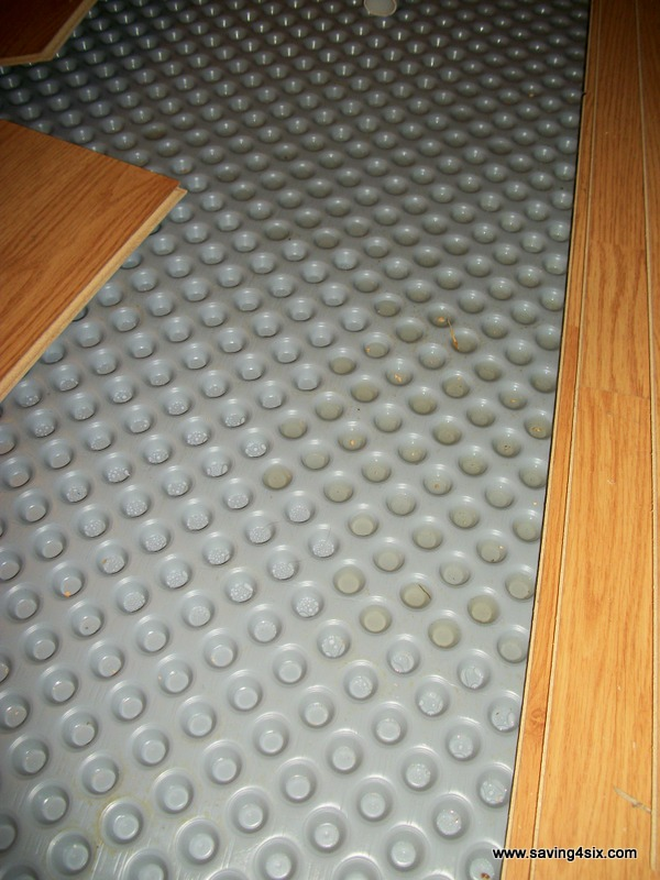 Basement floor underlay basement floor underlayment for Floor underlayment