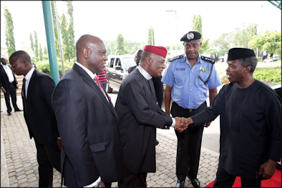 Osinbajo Leaves Abuja For Maiduguri (Photos)