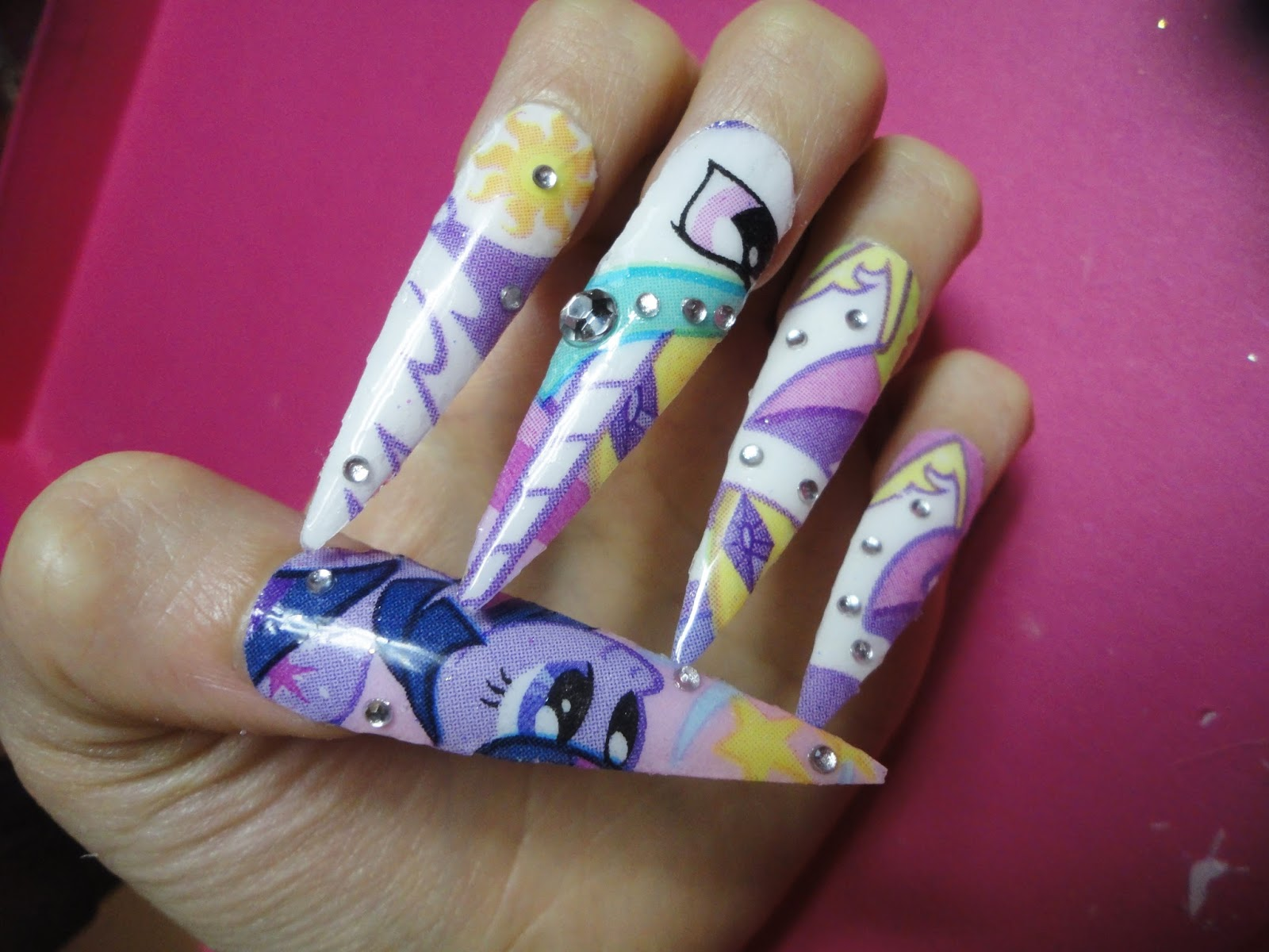 Easy Nail Designs For Little Girls Easy Nail Art Designs