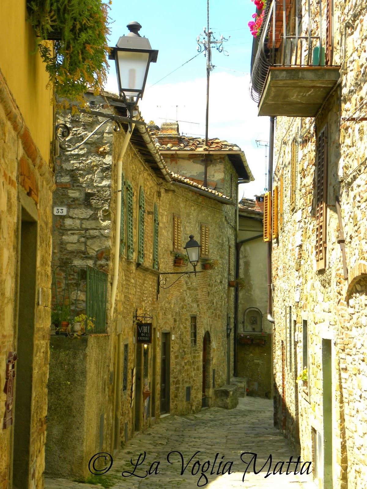 montefioralle un antico borgo nel chianti