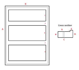 My rough idea for an aluminium frame
