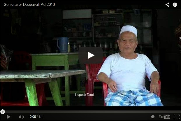 Ucapan Deepavali Jamil Lambang Rakyat Malaysia Tulen