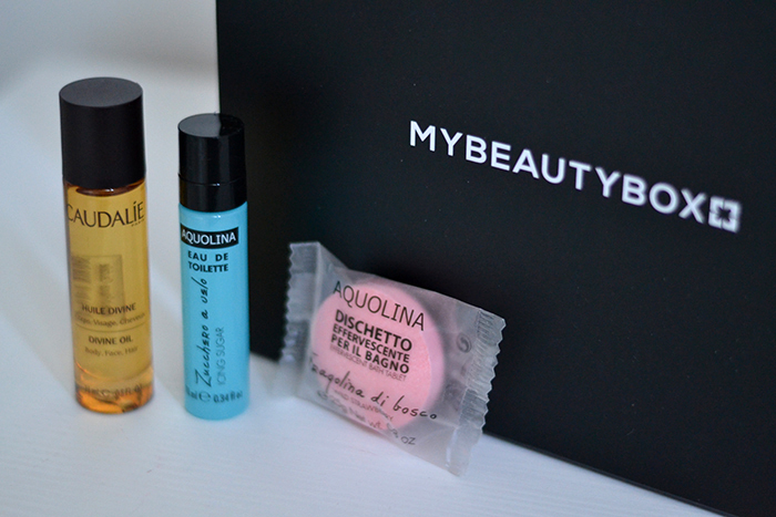 my beauty box prodotti aquolina