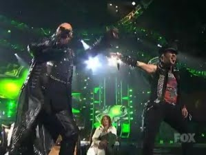 Judas Priest on the Series finale of American Idol