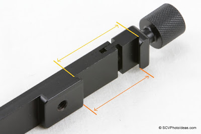 Desmond DAFB-01 base Arca comp clamp dimensions