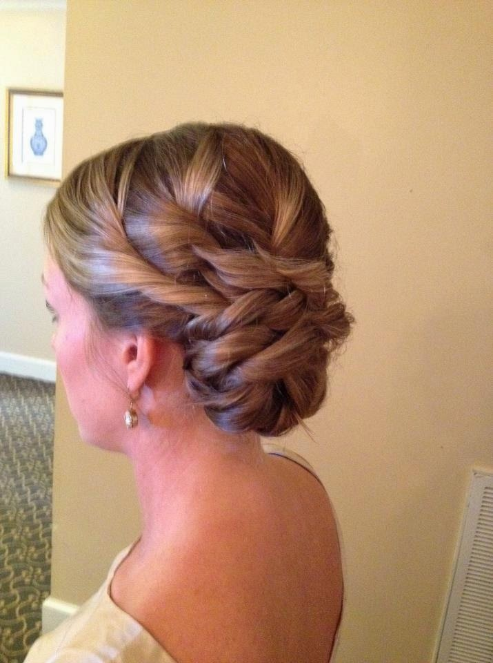 Weaving Bridal Updo Hair Tutorial Photos Amp Videos The