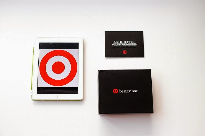 Target beauty box, fashion blog, beauty box, target style, target beauty