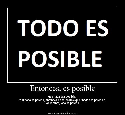 Domingo, TODO ES POSIBLE