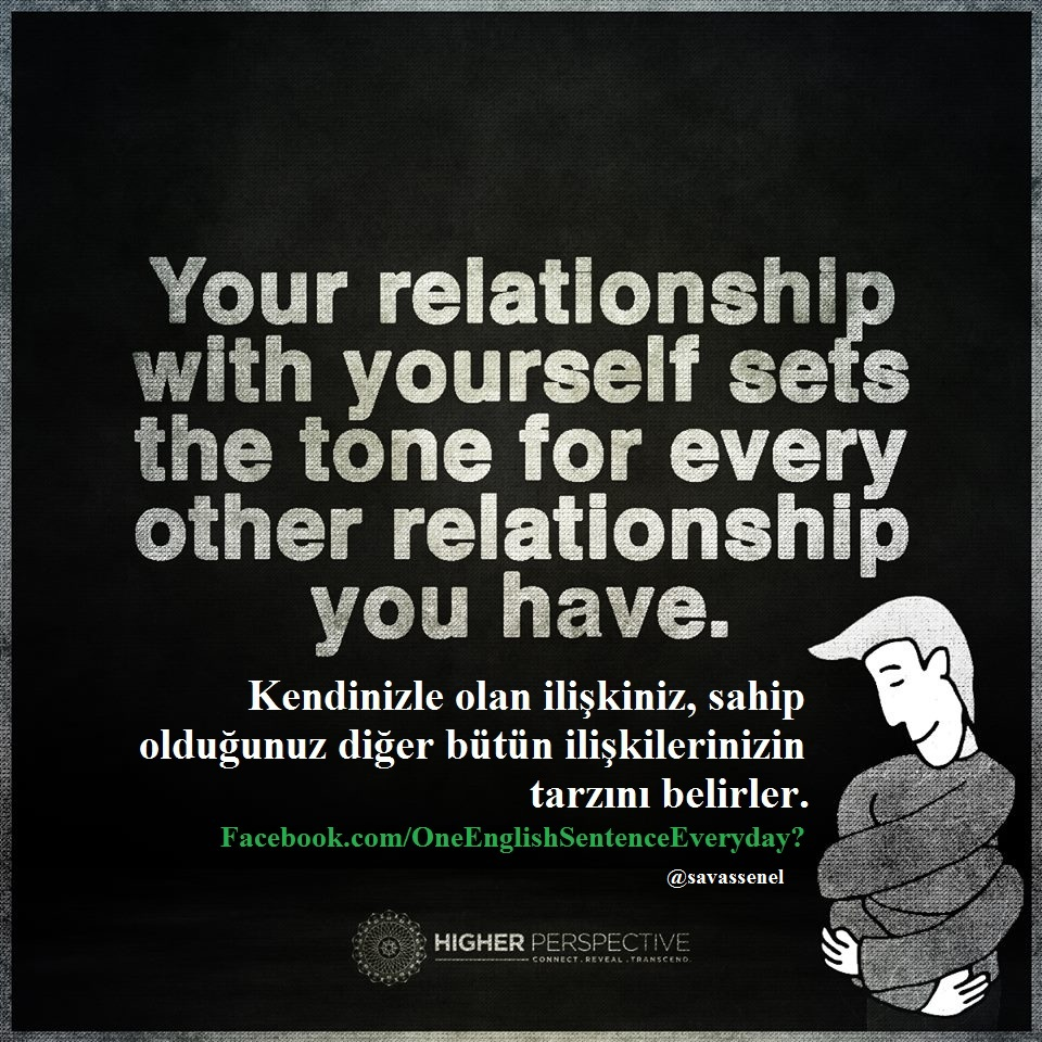 Turkish Quotes About Friendship Quote 0369 To Love Yourself  Englishturkish Quotes İngilizce