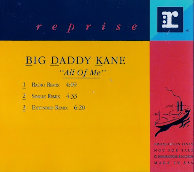 Big Daddy Kane ‎– All Of Me (CDS) (1990) (320 kbps)