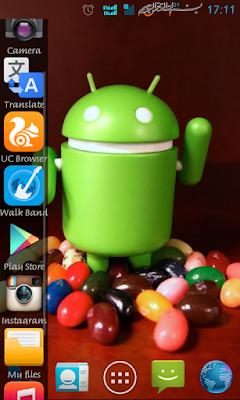 Cara Menambah Menu Appbar di Samping Pada Ponsel Android