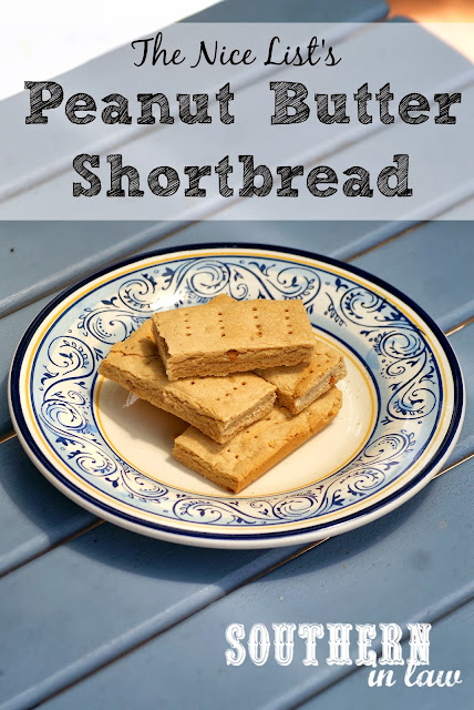 Healthier Peanut Butter Shortbread Recipe - Gluten Free, Low Sugar
