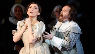 Rosa Feola and Barry Banks - Bellini I Puritani - Welsh National Opera - photo Bill Cooper