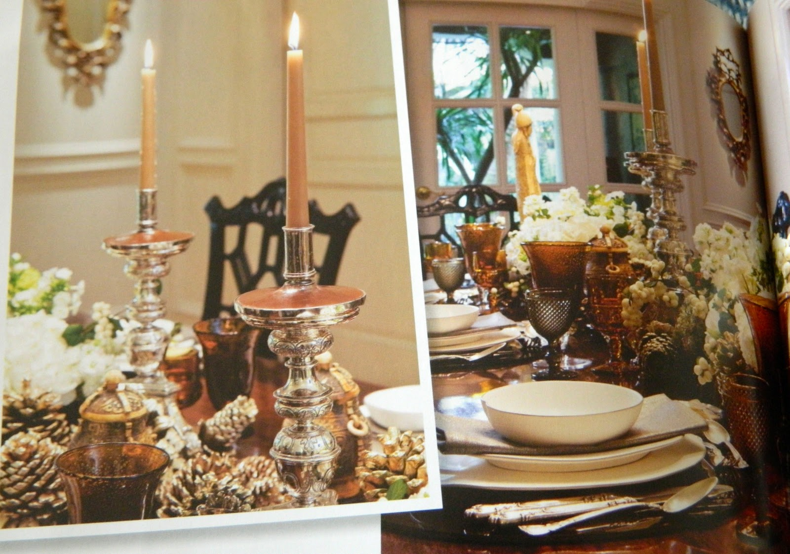 Dining Table Dining Table Candelabras