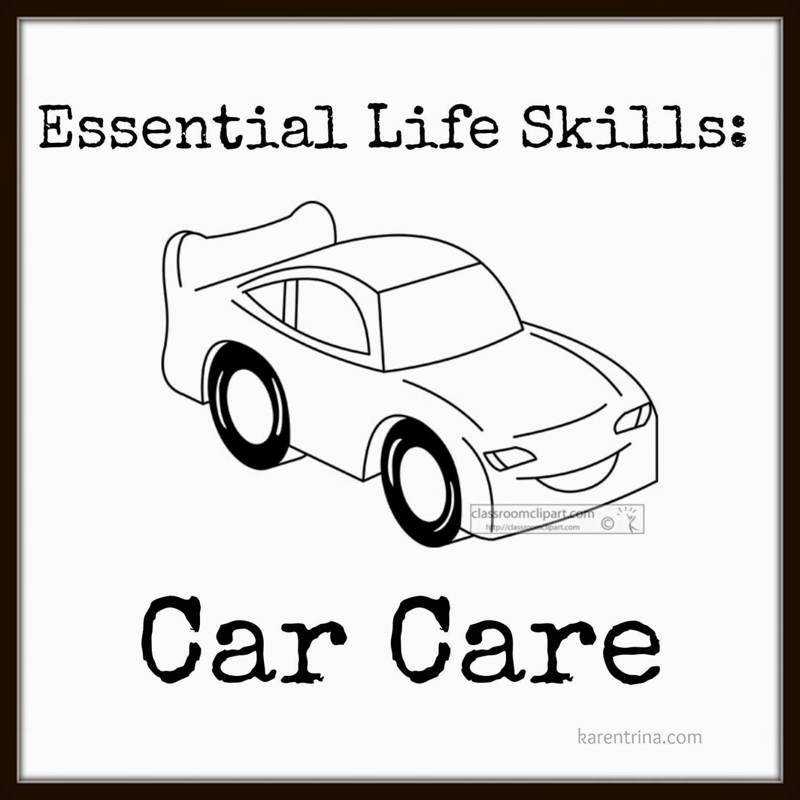 teaching car care to your students