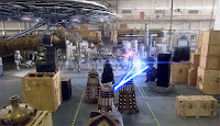 Doctor Who; Cybermen; Daleks; Doomsday;