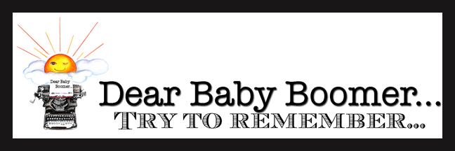 Dear Baby Boomer....