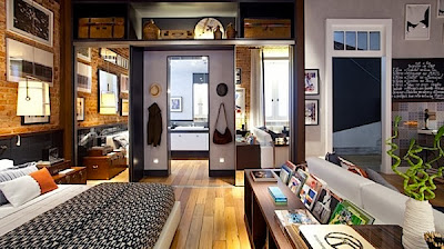 Modern Studio Apartment Interior Design