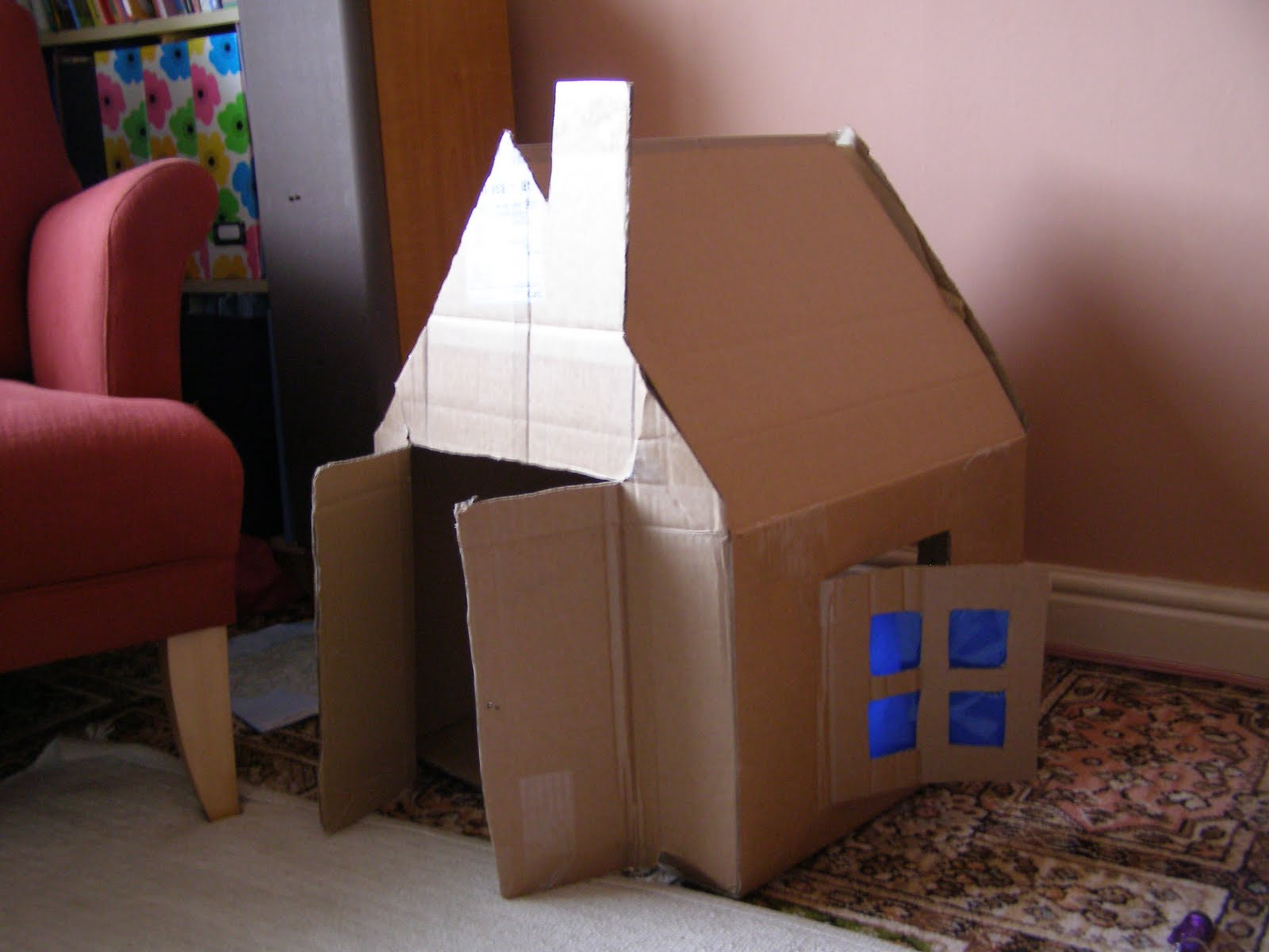 create with your hands creativity with cardboard boxes