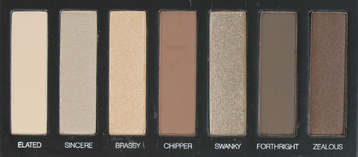 Younique Moodstruck Addiction Shadow Palette #1 swatches