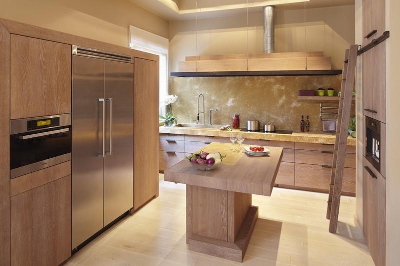 cuisine en chene moderne ra09 jornalagora. Black Bedroom Furniture Sets. Home Design Ideas