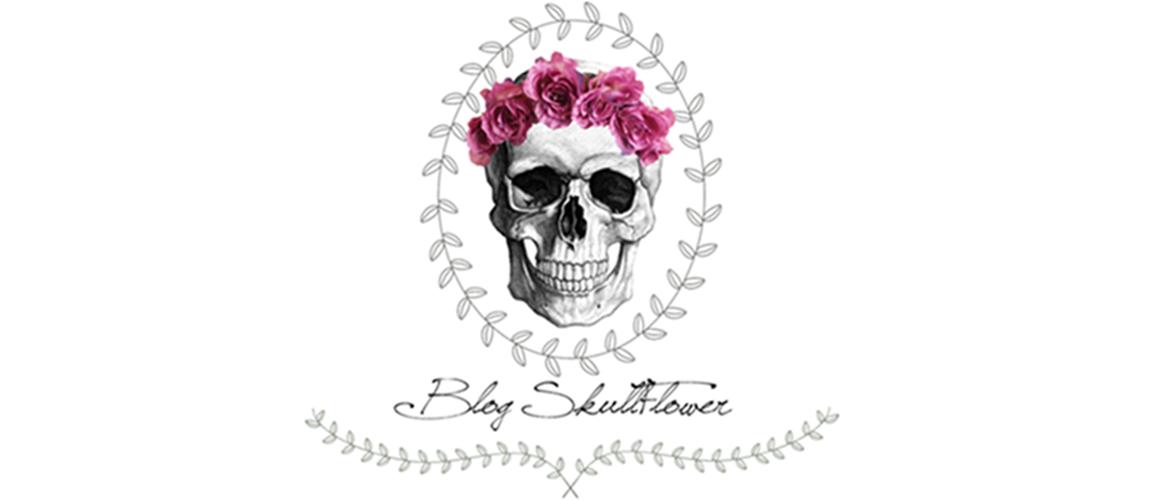 Blog Skull Flower