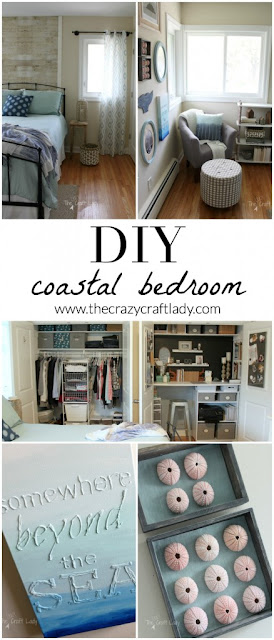 coastal inspired bedroom makeover