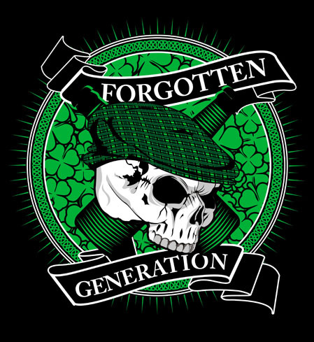 Forgotten Generation Band Celtic Folk Punk Bandung foto logo artwork cover wallpaper