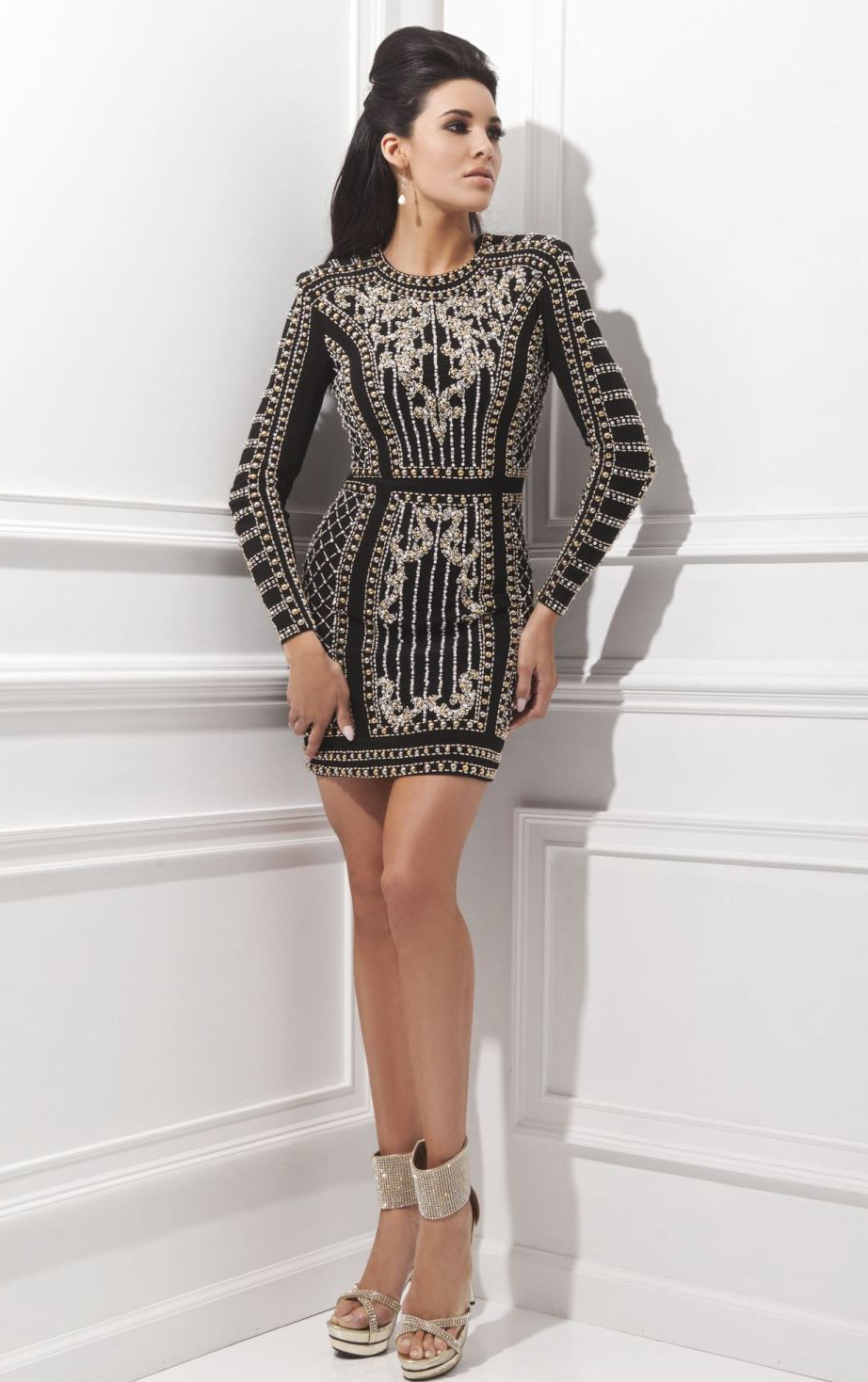 Balmain Style Dress Dsquared2 Uk