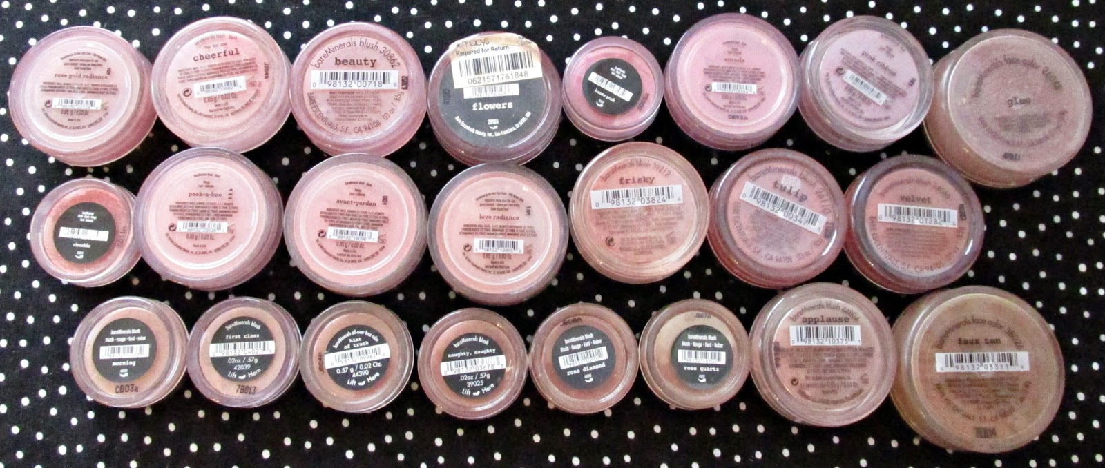 Sharalee's Box of Chocolates: Browse My Stash: bareMinerals Loose ...