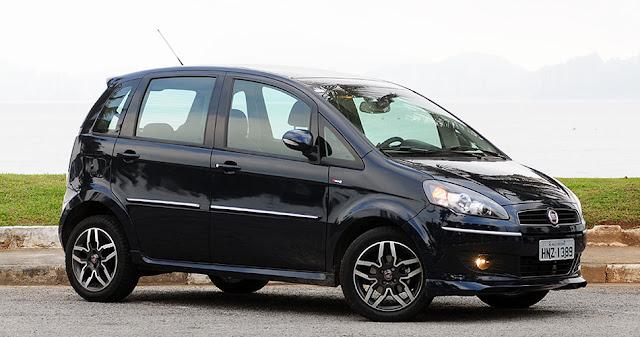 Se cada pessoa da turma 304 fosse um carro seria for Fiat idea sporting 2011
