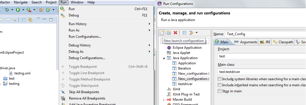 How to Create and execute Runnable JAR file for Java Project from