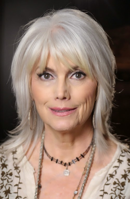 Gray Hair Bangs Hairstyles for Age Over 50
