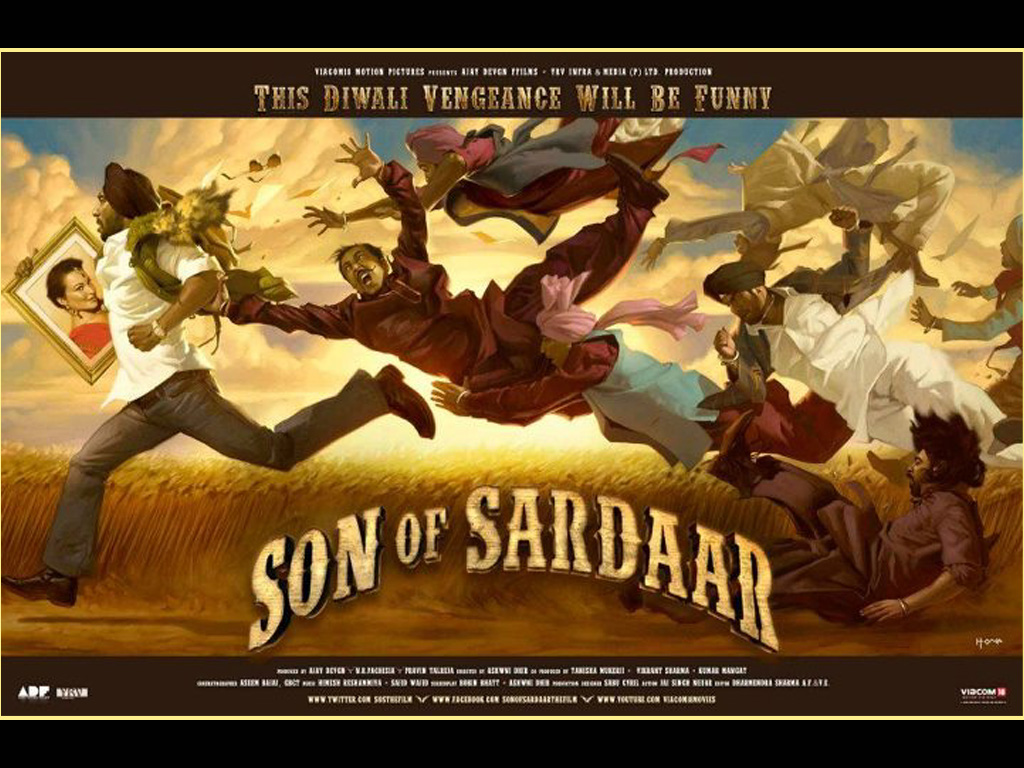 Daily Movie Wallpapers: Son of Sardar Movie Desktop ...