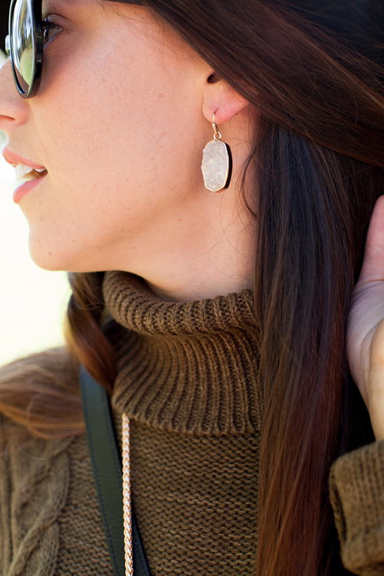Here&Now: Kendra Scott druzy earrings