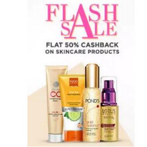 PAyTM : Buy Skin Care Extra 35% cashback