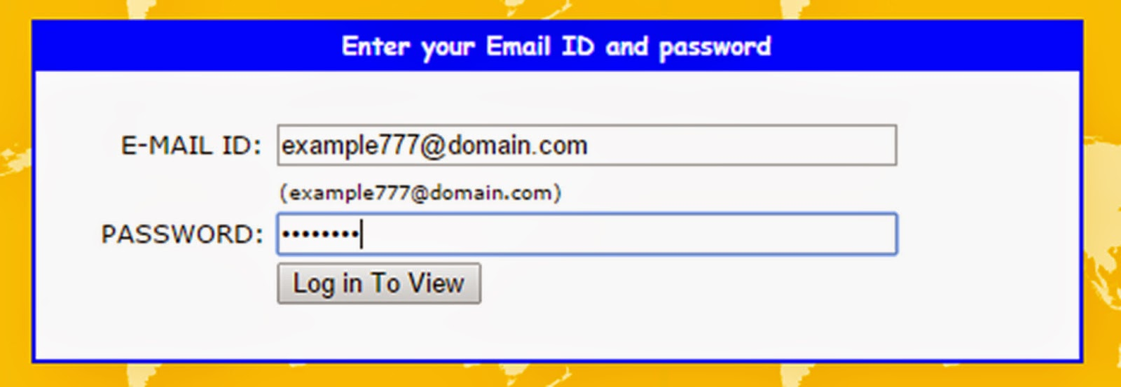 YOUR FAKE E-MAIL ADDRESS IS READY