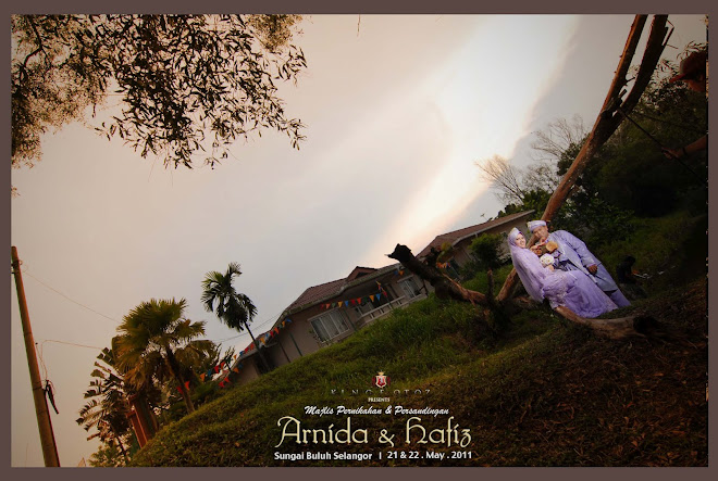 Arnida&Hafiz Wedding Ceremonies