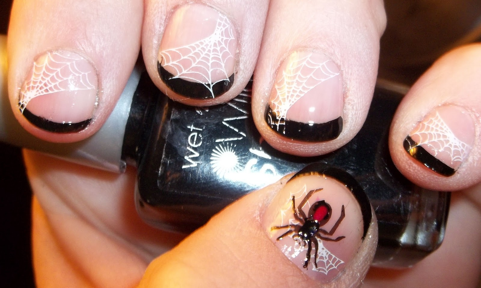 Nails Actually: Halloween French Tips