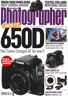Amateur Photog Mag Cover