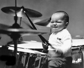 Free Cute Baby Drummer Images Wallpapers Download