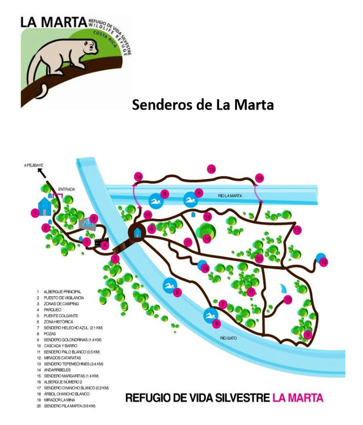 Refugio de vida silvestre la marta sitio hist rico - Marta de la rica ...