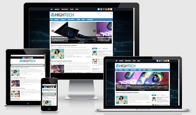 HighTech Blogger Template by Lasantha Bandara