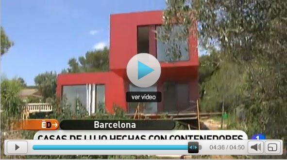 Casas contenedores lujo en un contenedor v deo - Casas contenedores espana ...